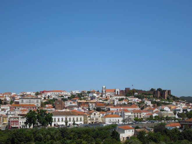 The very picturesque Silves on the long ride
