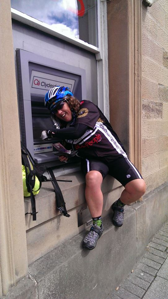 the world's stupidest cash machine which was too high to reach