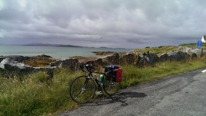 Looking towards Lungay, Fuday and Barra beyond them