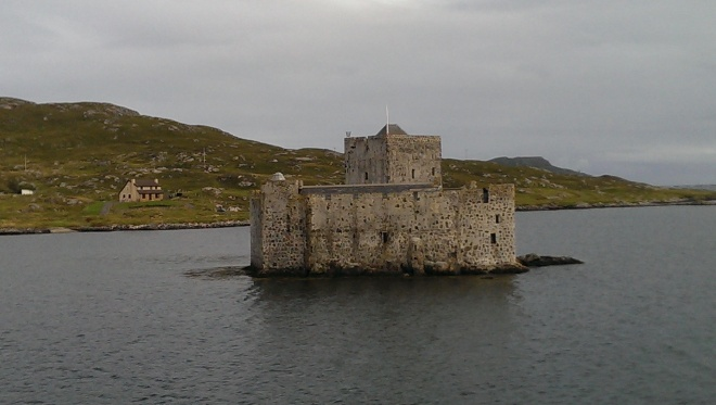 the castle in Castlebay
