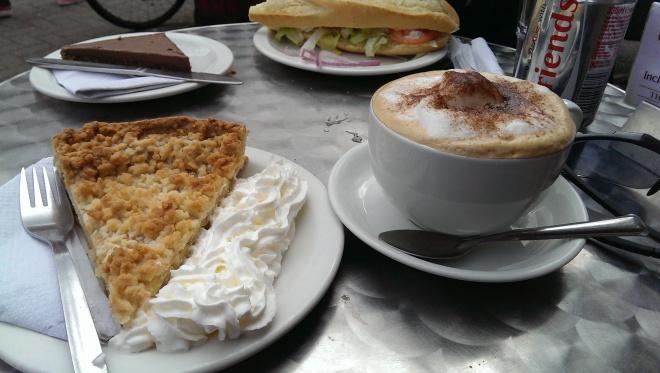 "Oban post ""trek"" coffee stop"