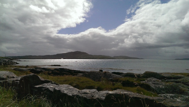 Looking towards Eriskay from Sth Uist